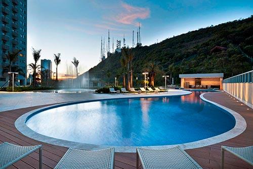 Condominio green garden vila da serra apartamento luxo - Green garden piscina ...